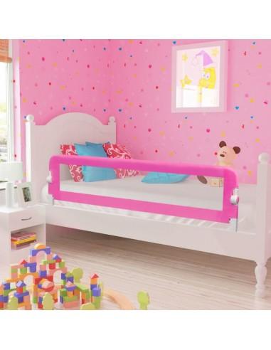 Apsauginis Turėklas Kūdikio Lovai 150 x 42 cm, Rožinis | Apsauginiai turėklai kūdikiams | duodu.lt