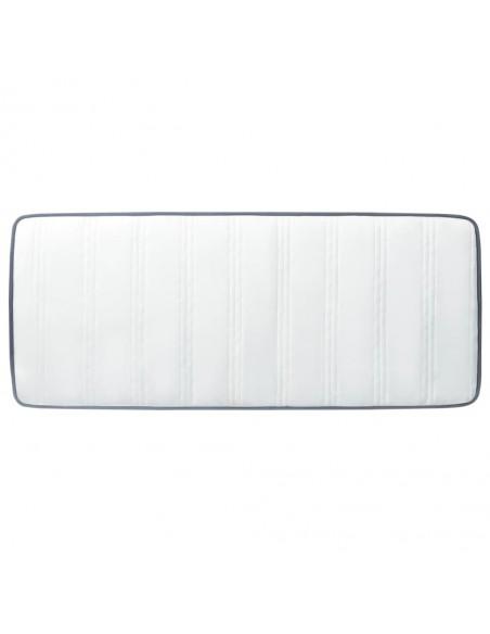 Chindi kilimėlis, antracito ir baltas, 160x230cm, medvilnė | Kilimėliai | duodu.lt