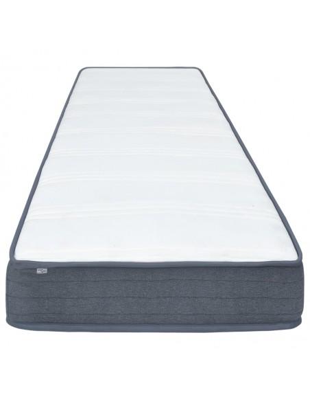 Chindi kilimėlis, antracito ir baltas, 200x290cm, medvilnė | Kilimėliai | duodu.lt