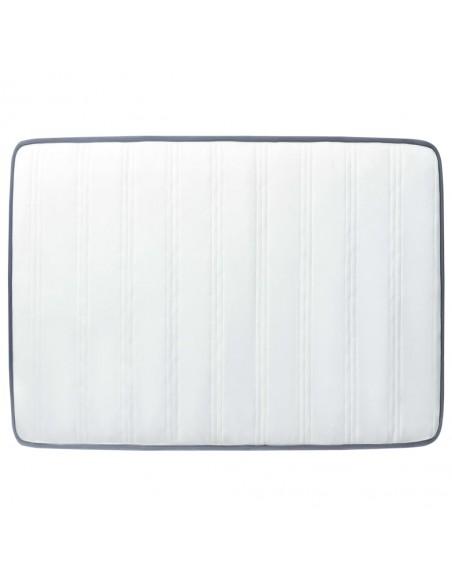 Chindi kilimėlis, vyšninis ir baltas, 160x230cm, medvilnė | Kilimėliai | duodu.lt