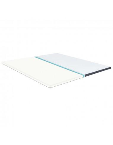Chindi kilimėlis, mėlynas ir baltas, 120x170cm, medvilnė | Kilimėliai | duodu.lt