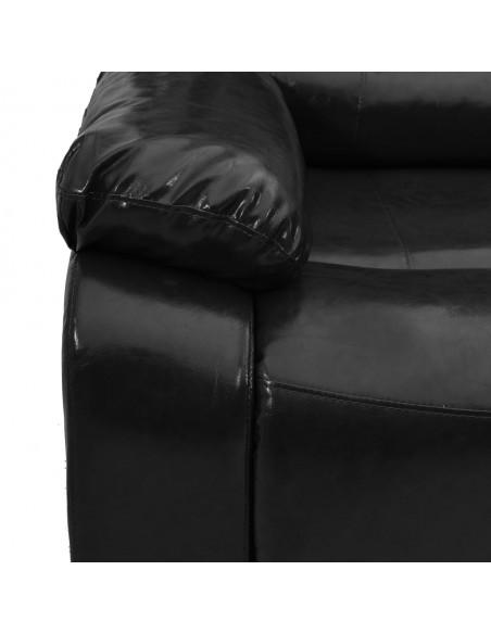 Kilimas, juodos ir raudonos spalvos, 140x200cm, PP | Kilimėliai | duodu.lt