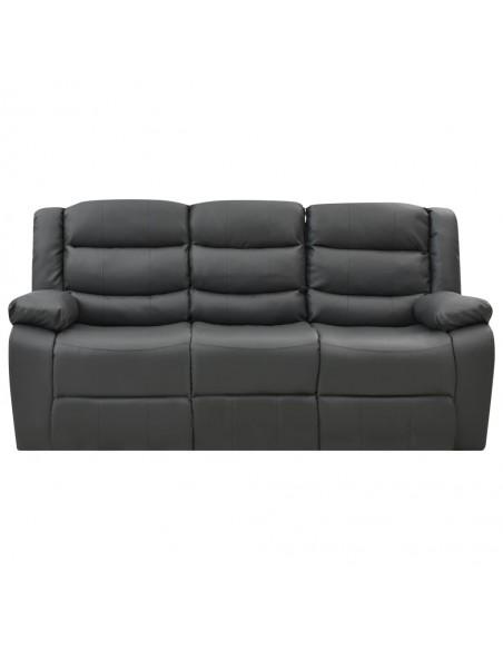 Patalynės komplektas, juodos spalvos, 200x200/60x70cm, flisas | Pūkinės antklodės | duodu.lt