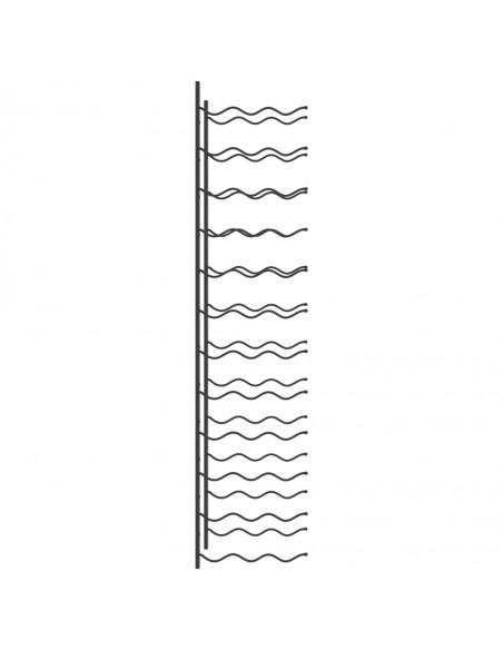 Sodo vartai, antracito spalvos, 100x125cm, plienas | Vartai | duodu.lt