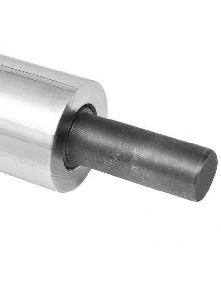 Tvoros stulpai, 2vnt., sidabrinės spalvos, 7x6x60cm, plienas | Kuoliukai | duodu.lt