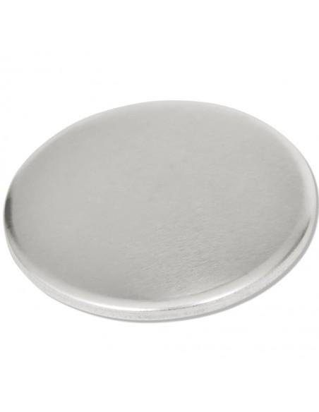 Tvoros stulpai, 2vnt., sidabrinės spalvos, 8x6x60cm, plienas | Kuoliukai | duodu.lt