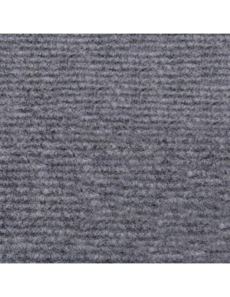 Tvoros stulpai, 6vnt., sidabrinės spalvos, 10x6x60cm, plienas | Kuoliukai | duodu.lt