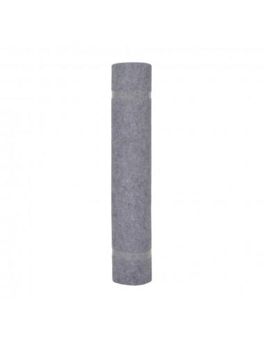 Tvoros stulpai, 2vnt., sidabrinės spalvos, 12x6x60cm, plienas | Kuoliukai | duodu.lt