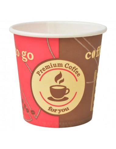 Vienkartiniai kavos puodeliai, 1000 vnt., popieriniai, 4 ozt.   Kavos ir Arbatos Puodeliai   duodu.lt