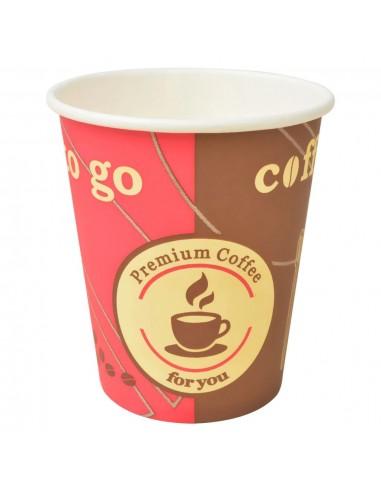 Vienkartiniai kavos puodeliai, 1000 vnt., popieriniai | Kavos ir Arbatos Puodeliai | duodu.lt