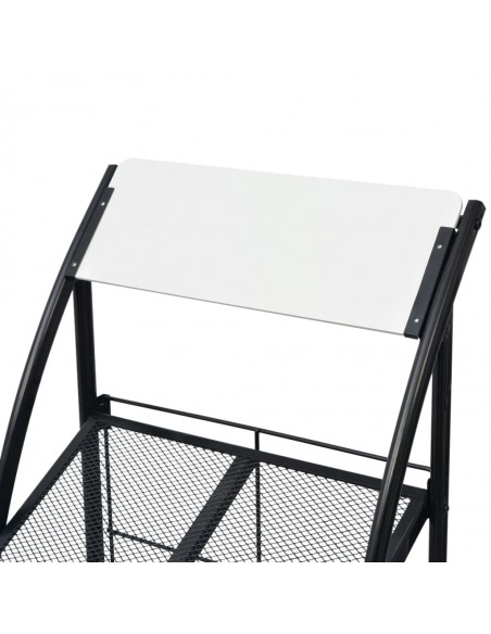 Tvoros stulpai, 2vnt., sidabrinės spalvos, 9x6x30cm, plienas | Kuoliukai | duodu.lt