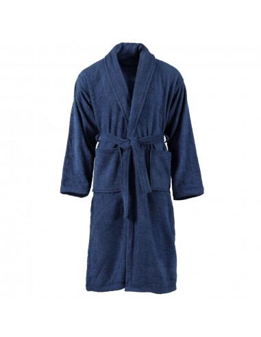 Kilpinis chalatas, mėlynos spalvos, 100% medvilnė, XL, unisex | Chalatai | duodu.lt