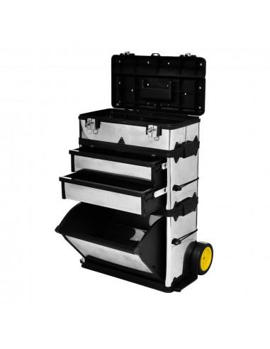 Trijų Dalių Įrankių Dėžė su Ratukais | Įrankių Spintos ir Dėžės | duodu.lt