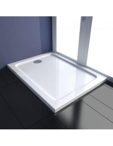 Stačiakampis dušo padėklas ABS 80 x 100 cm   Dušo padėklai   duodu.lt