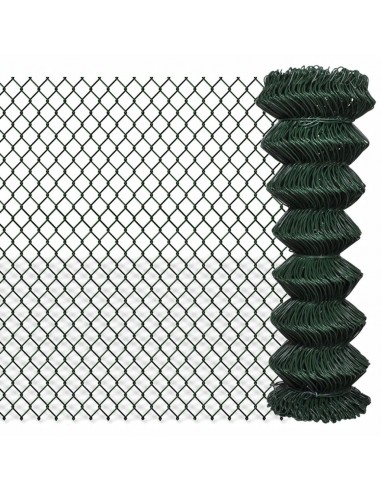 Tinklinė Tvora 1,25 x 15 m, Žalia | Tvoros Segmentai | duodu.lt