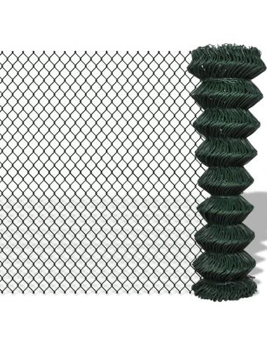 Tinklinė Tvora 1,5 x 15 m, Žalia   Tvoros Segmentai   duodu.lt