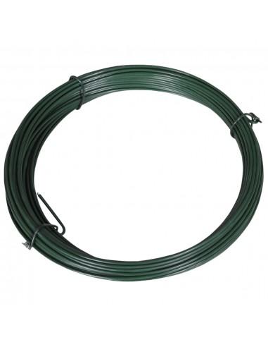 Viela tvorai, lankstoma, 25m, 1,4/2mm, plienas, žalia | Tvorų ir vartų priedai | duodu.lt