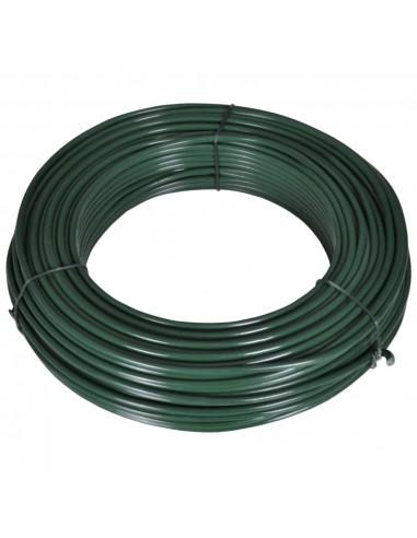 Viela tvorai, 55m, 2,1/3,1mm, plienas, žalia  | Tvorų ir vartų priedai | duodu.lt