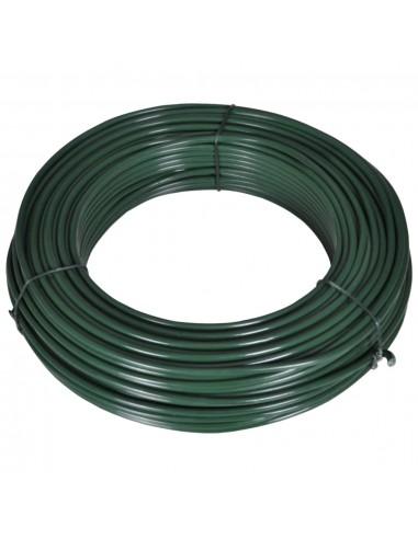 Viela tvorai, 80m, 2,1/3,1mm, plienas, žalia    Tvorų ir vartų priedai   duodu.lt