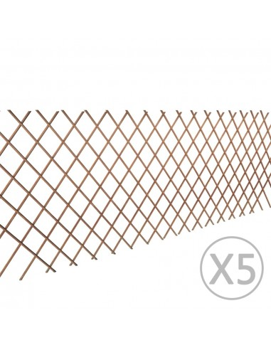 Karklinių Vytelių Tvora 90 x 180 cm, 5 vnt.   Tvoros Segmentai   duodu.lt