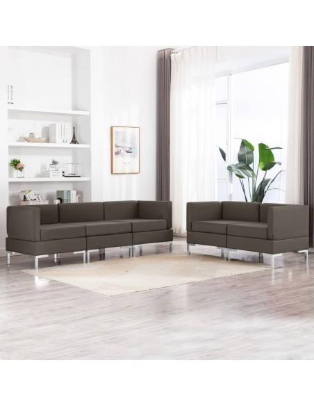 Valgomojo kėdės, 6 vnt., rudos, dirbtinė oda | Virtuvės ir Valgomojo Kėdės | duodu.lt