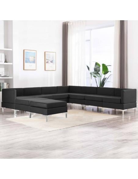 Valgomojo kėdės, 6 vnt., kreminės spalvos, audinys (3x283627)   Virtuvės ir Valgomojo Kėdės   duodu.lt