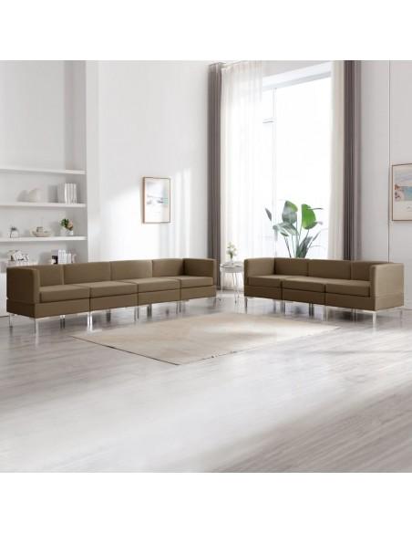 Valgomojo kėdės, 4 vnt., juodos, audinys (2x283631) | Virtuvės ir Valgomojo Kėdės | duodu.lt