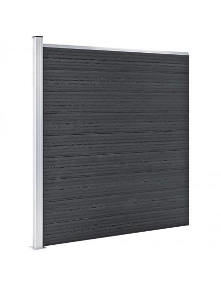Sodo vartai, sidabrinės spalvos, 400x75cm, plienas | Vartai | duodu.lt