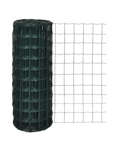 Tinklinė Euro Tvora 25 x 1,0 m su 100 x 100 mm Akimis   Tvoros Segmentai   duodu.lt