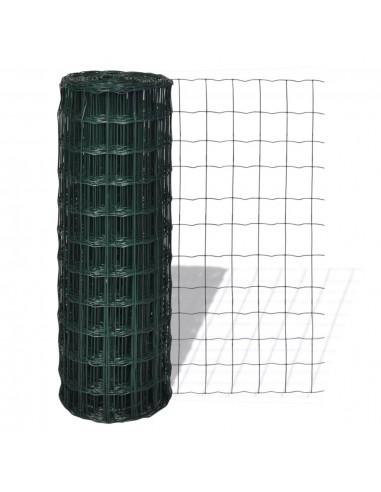Tinklinė Euro Tvora 25 x 1,5 m su 100 x 100 mm Akimis   Tvoros Segmentai   duodu.lt