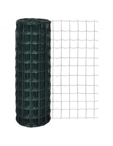 Tinklinė Euro Tvora 25 x 1,0 m su 76 x 63 mm Akimis   Tvoros Segmentai   duodu.lt