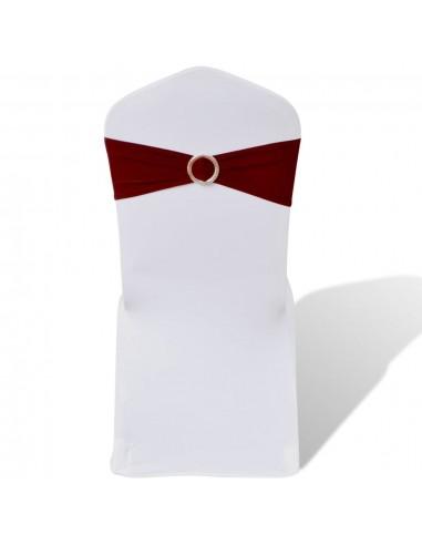 25 Tamprios Dekoratyvinės Juostos Kėdėms su Blizgia Sagtimi, Vyšninės | Baldų Užvalkalai | duodu.lt