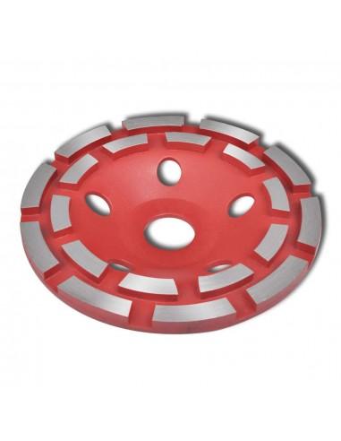 Deimantinis Išgaubtas Šlifavimo Diskas, Dvieilis, 125 mm   Šlifavimo Staklės   duodu.lt