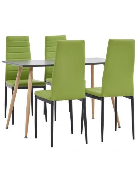 Valgomojo kėdės, 6vnt., geltonos, audinys (249111+249112) | Virtuvės ir Valgomojo Kėdės | duodu.lt