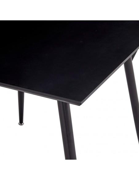 Baro baldų komplektas, 7d., akacijos mediena ir tikra oda  | Virtuvės ir Valgomojo Baldų Komplektai | duodu.lt