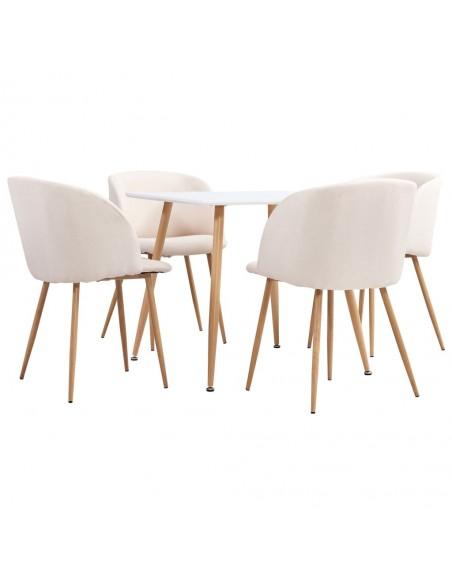 Valgomojo kėdės, 4 vnt., mėlynos spalvos, audinys (2x282519) | Virtuvės ir Valgomojo Kėdės | duodu.lt