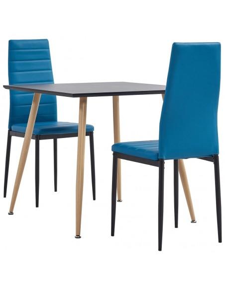 Gembinės valgomojo kėdės, 6 vnt., raudonos, dirbtinė oda | Virtuvės ir Valgomojo Kėdės | duodu.lt