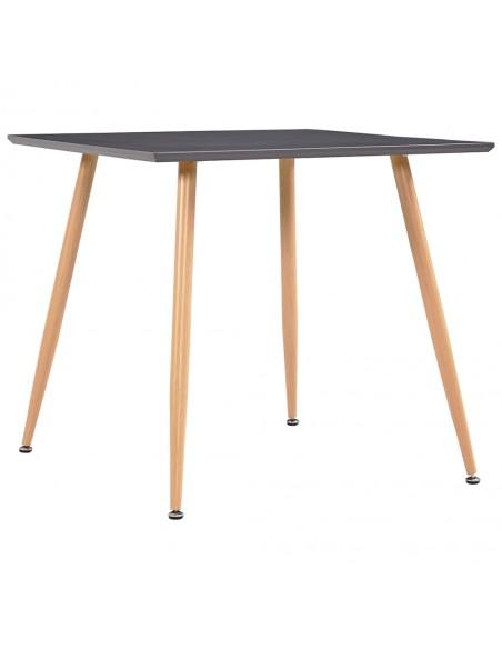 Valgomojo kėdės, 6vnt., tams. pilkos sp., išlenkta med. ir aud. | Virtuvės ir Valgomojo Kėdės | duodu.lt
