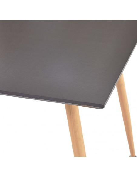 Valgomojo kėdės, 4 vnt., kapuč. sp., dirbtinė oda, zigz. formos | Virtuvės ir Valgomojo Kėdės | duodu.lt