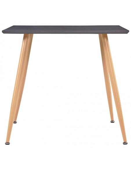 Valgomojo kėdės, 6 vnt., rudos sp., dirbtinė oda, zigz. formos   Virtuvės ir Valgomojo Kėdės   duodu.lt