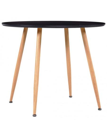Naktiniai staliukai, 2vnt., 40x30x54cm, akac. med. ir plienas | Naktiniai Staliukai | duodu.lt