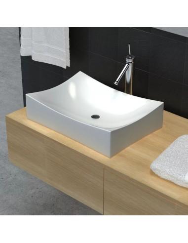 Vonios Kambario Praustuvas, Keramika ir Porcelianas, Blizgus, Baltas | Vonios praustuvai | duodu.lt