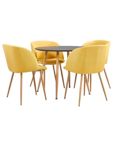 Valgomojo kėdės, 4vnt., akac. ir rausv. dalberg. medienos mas. | Virtuvės ir Valgomojo Kėdės | duodu.lt