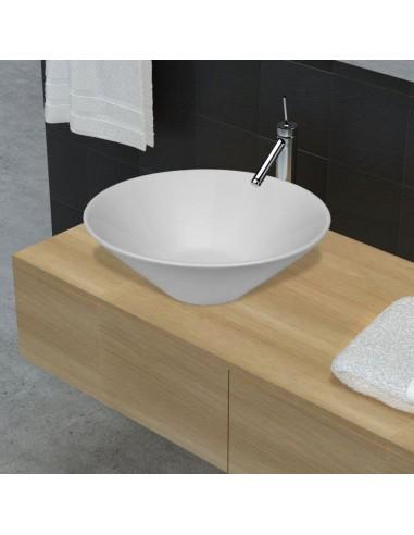 Dubens Formos Vonios Kambario Praustuvas, Keramika/Porcelianas, Baltas | Vonios praustuvai | duodu.lt