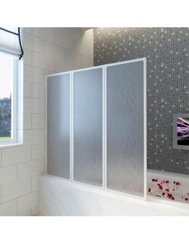 Dušo, Vonios Pertvara, 117 x 120 cm, 3 Sulankstomos Dalys   Dušo durys ir kabinos   duodu.lt