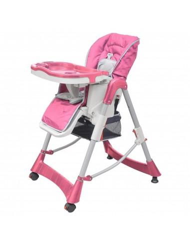 Mažylio maitinimo kėdutė, rožinė, reguliuojamo aukščio   Vaikiškos kėdės   duodu.lt