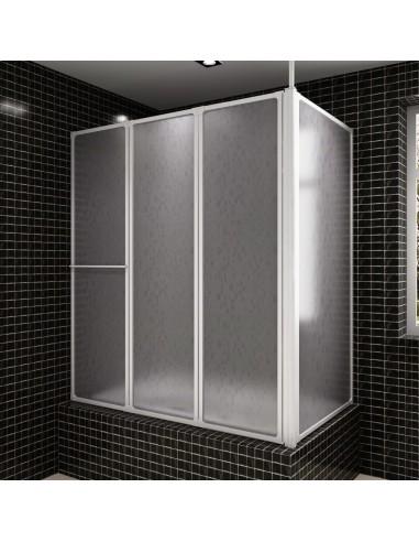 Dušo, Vonios Pertvara, 70x120x140 cm, 4 Lankstomos Sienelės, L Formos   Dušo durys ir kabinos   duodu.lt