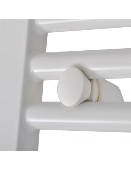 Dekoratyv. apsauginė strypų tvora, plienas, apval. virš., 150cm | Tvoros Segmentai | duodu.lt