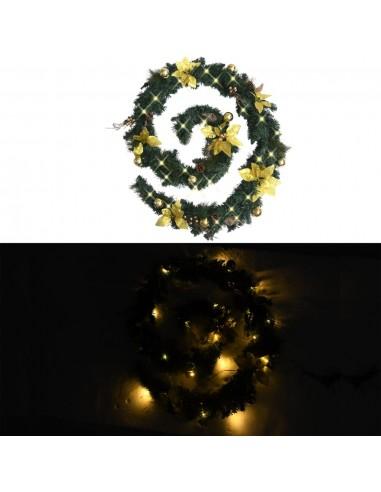 Kalėdinė girlianda su LED lemputėmis, žalia, 2,7m, PVC   Šventiniai papuošimai   duodu.lt