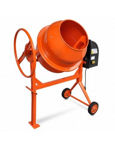 Plieninė Cemento, Betono Maišyklė, 140 L, 650 W, Oranžinė   Cemento Maišytuvai   duodu.lt